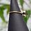 Thumbnail: Ring labradorite drop brass