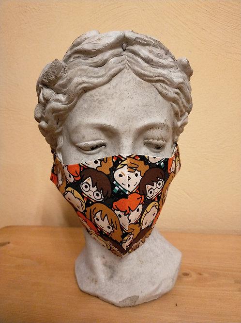 Maske Kinder, größenverstellbar