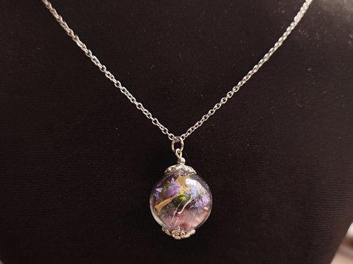 Unique flower necklace number 77