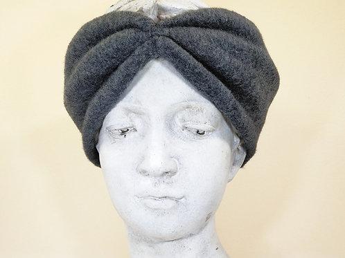 Haarband Bio Baumwolle, Dunkelgrau