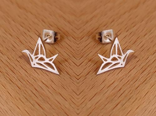 Pendientes Pájaros Origami