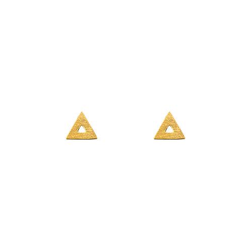 Ohrstecker Dreieck, klein