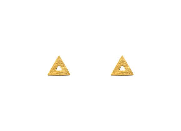 Dreieck, klein und geöffnet