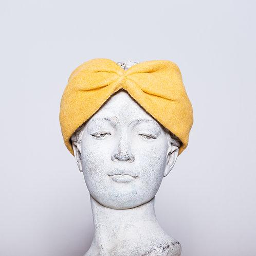 Haarband Bio Baumwolle, Gelb