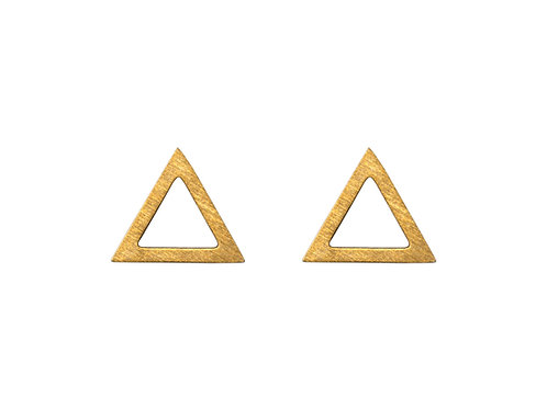 Pendientes Triangulares, tamaño grande