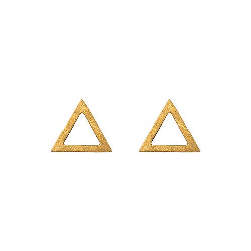 Ohrstecker Dreieck, groß