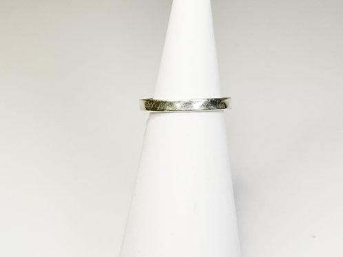Ring gehämmert Silber