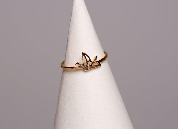 Ring Origami Vogel