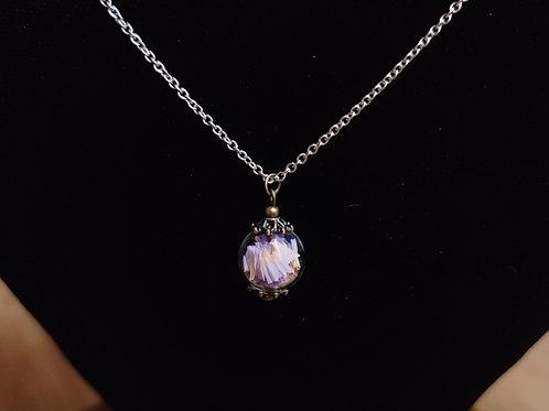 Unique flower necklace no.24