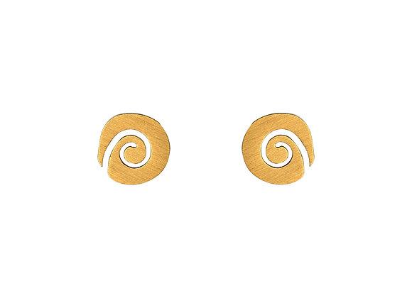 Ohrstecker Spirale