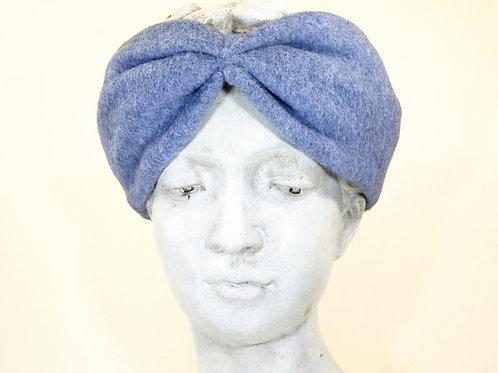 Haarband Bio Baumwolle, Hellblau
