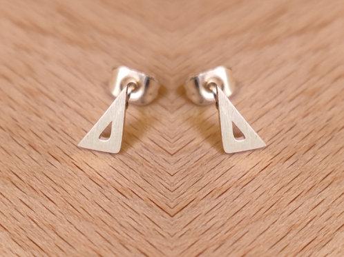 Pendientes Triángulos Irregulares