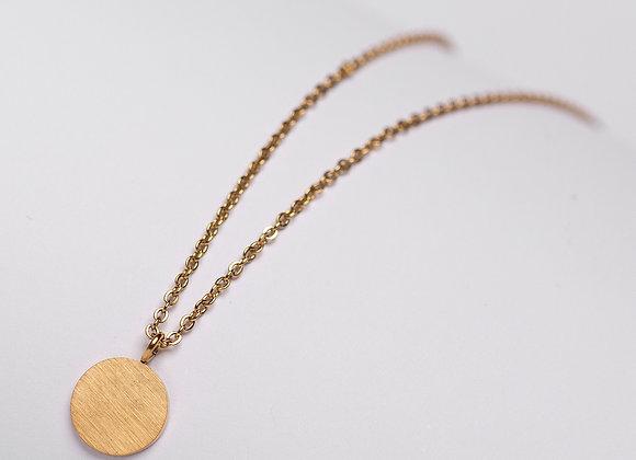 Halskette Scheibe