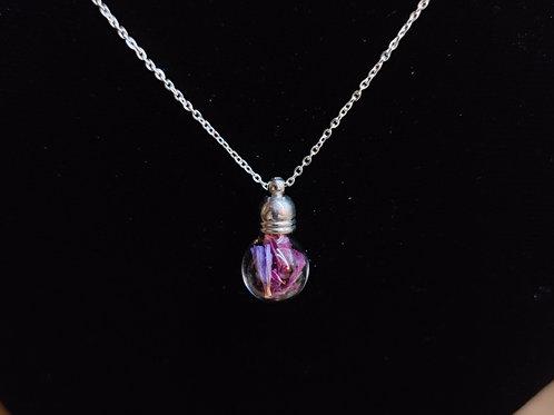 Flower necklace unique number 40