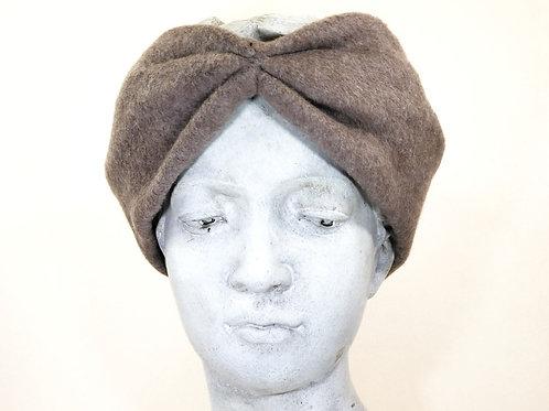 Haarband Bio Baumwolle, Hellbraun