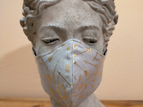 Maske Pfeile, hell