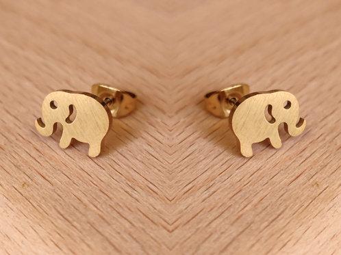 Pendientes Elefantes