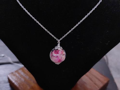 Unique flower necklace No. 22
