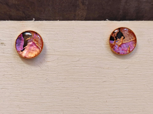 "Circle earrings ""Unique Nr10"""