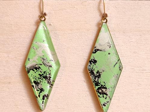 """Rhombus earrings """"Unique Nr2"""""""