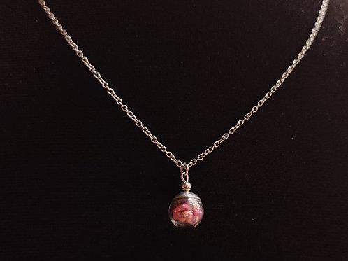 Unique flower necklace number 96