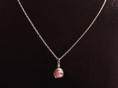 Unique flower necklace number 105