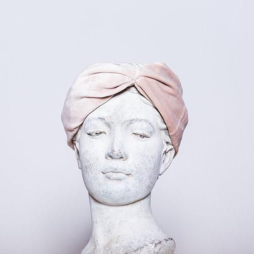 Haarband Samt, Rosa