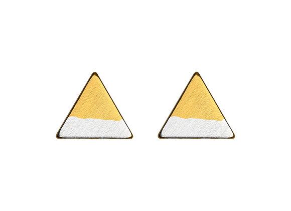 Zweifarbiges volles Dreieck