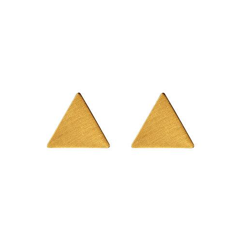 Ohrstecker Dreieck, groß, voll