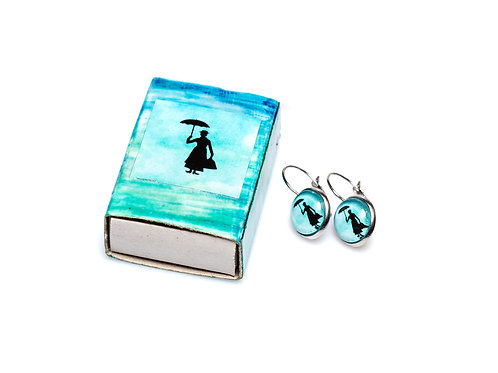 Mary Poppins turquoise