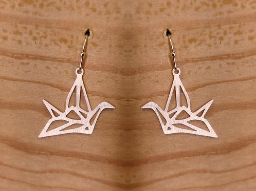 Hängerohrringe Origami
