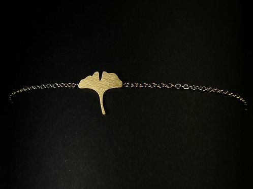 Ginko leaf bracelet