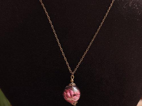 Unique flower necklace number 120