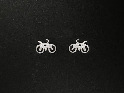 Ohrstecker Fahrrad