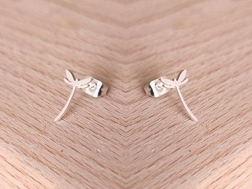 Dragon-fly stud earrings