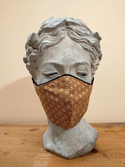 Maske Blume des Lebens