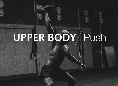 Upper Body Push Workout 1