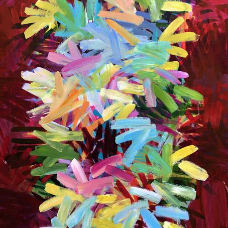 2020, 80 x 100 cm Acryl auf Leinwand