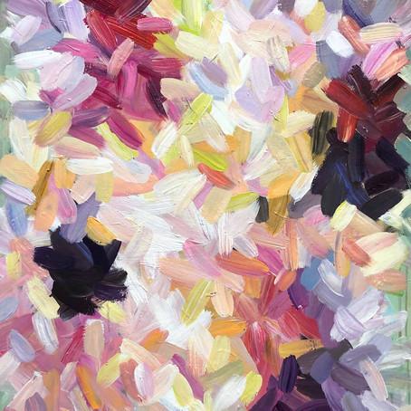 2021, 80 x 100 cm Acryl auf Leinwand