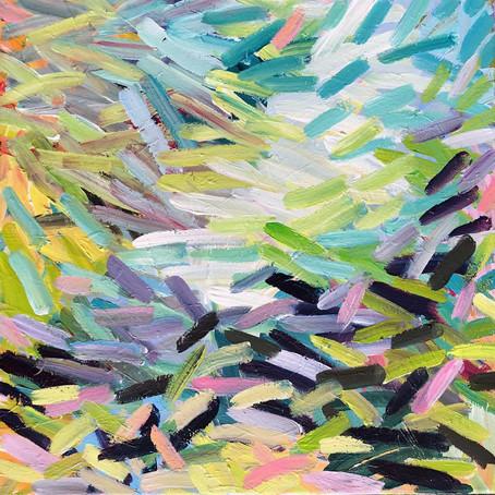 2021, 50 x 50 cm Acryl auf Leinwand