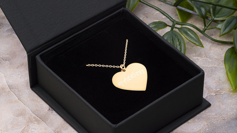 Priceless Heart Necklace