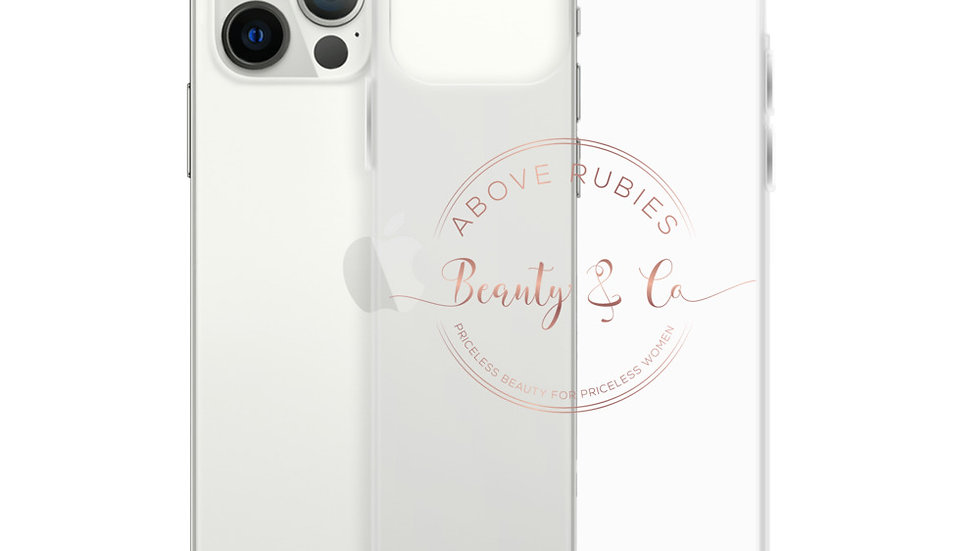 Above Rubies Beauty iPhone Case