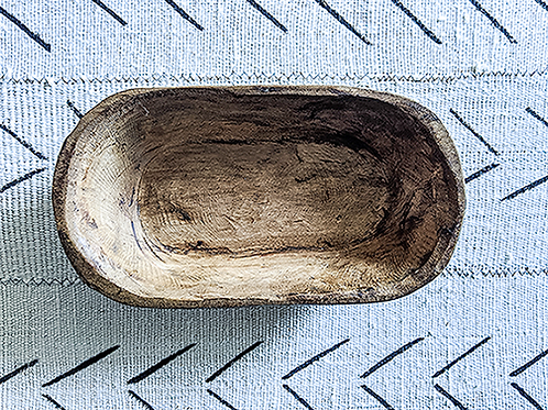 Hand Carved Dough Bowl