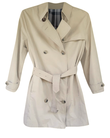 Authentic Classic Vintage Burberry trench Coat sz M
