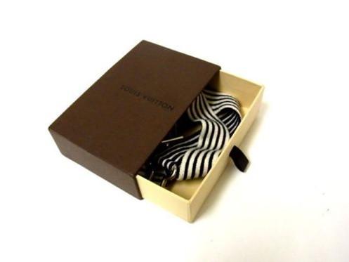 16649626a91b Vintage Louis Vuitton Belt Stretch rubber silver Accessory.Belt V413-14