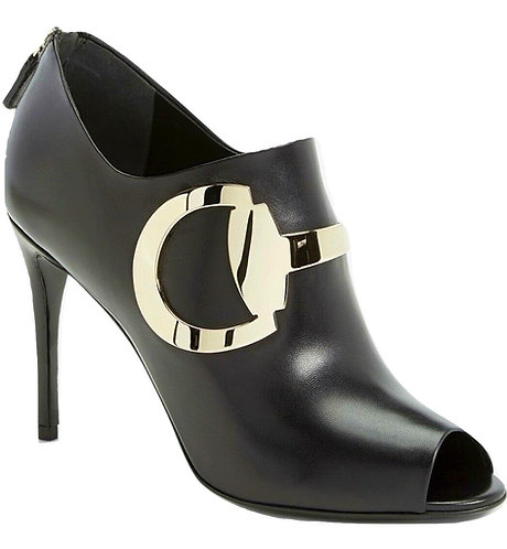 Authentic Womens Black Gucci Ankle Boots SZ 37