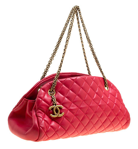 Authentic Chanel Red Mademoiselle Bag