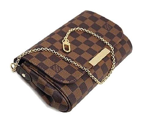 Authentic Louis Vuitton Favorite PM Damier Ebene