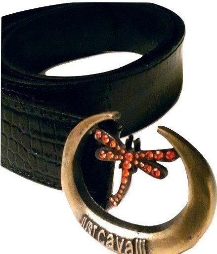 authentic just cavalli women black belt size 90 in excellent condition
