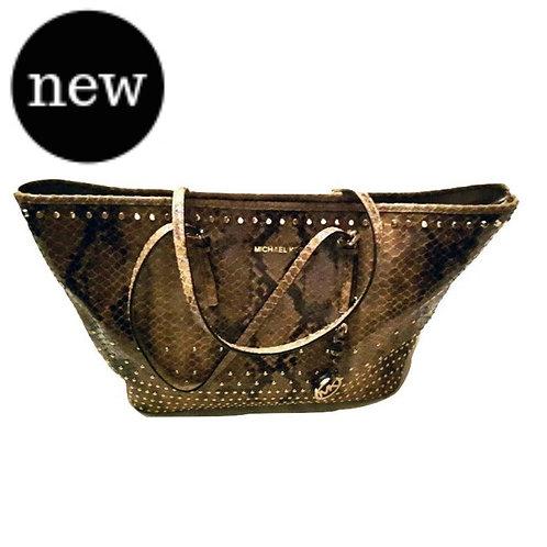 Authentic michael kors leather handbag
